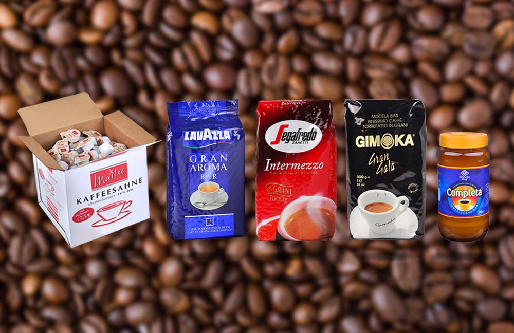 Kaffee Sortiment